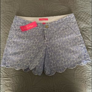 """Lilly Pulitzer shorts 5"""" buttercup"""